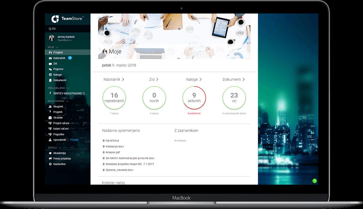 TeamStore kot produkt v delovnem okolju